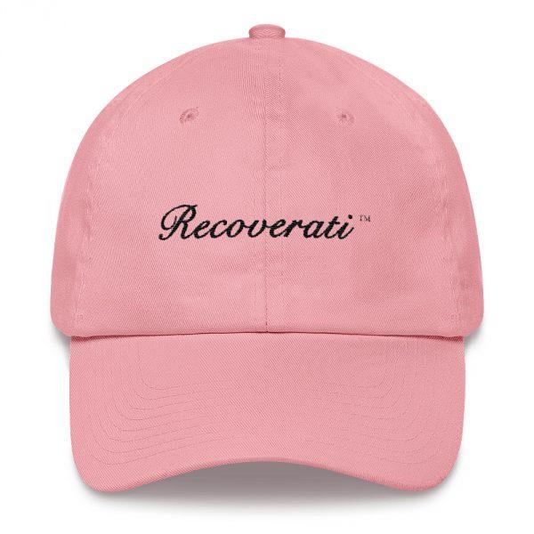 Recoverati pink dad hat