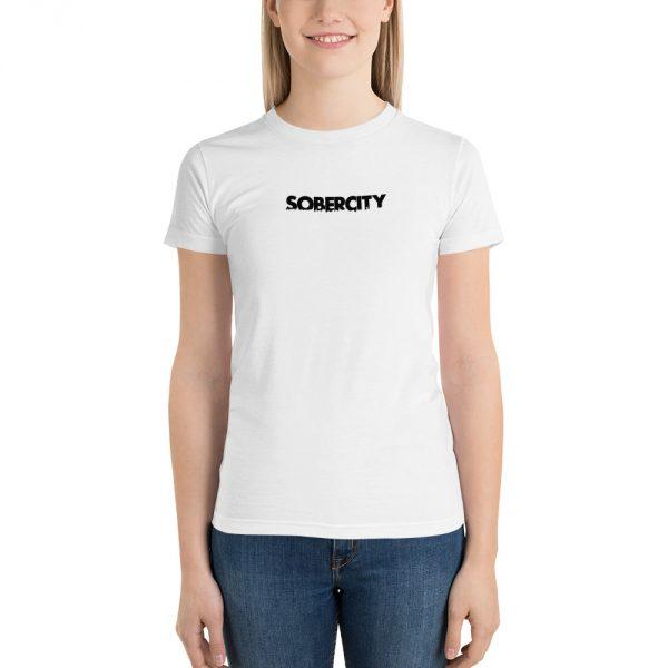 SOBERCITY white t-shirt