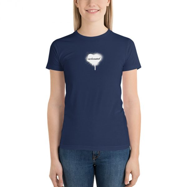 Caronated navy t-shirt