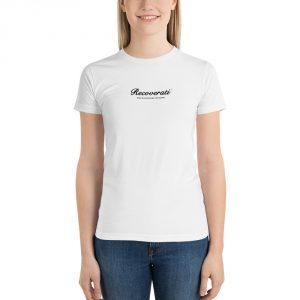 Recoverati white t-shirt