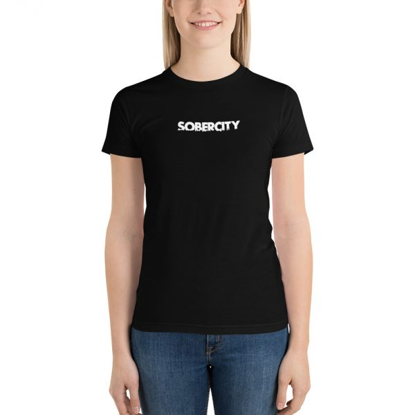SOBERCITY black t-shirt