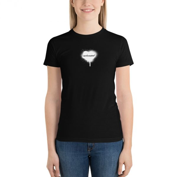 Caronated black t-shirt