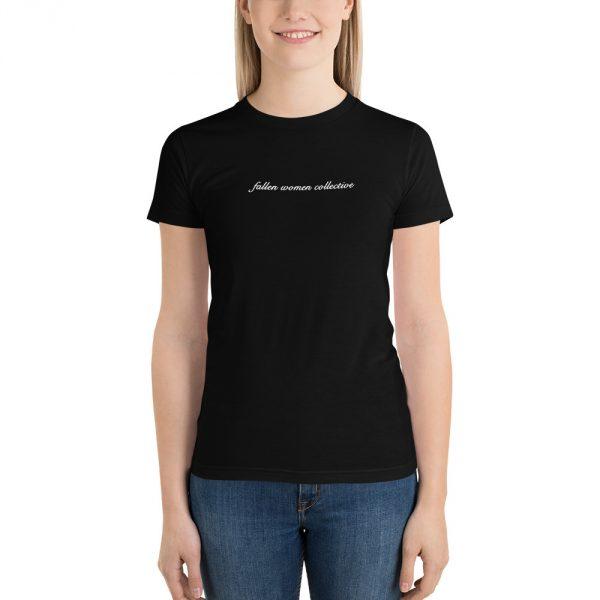 Fallen Women Collective black t-shirt