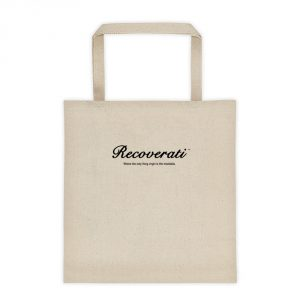 Recoverati natural tote bag