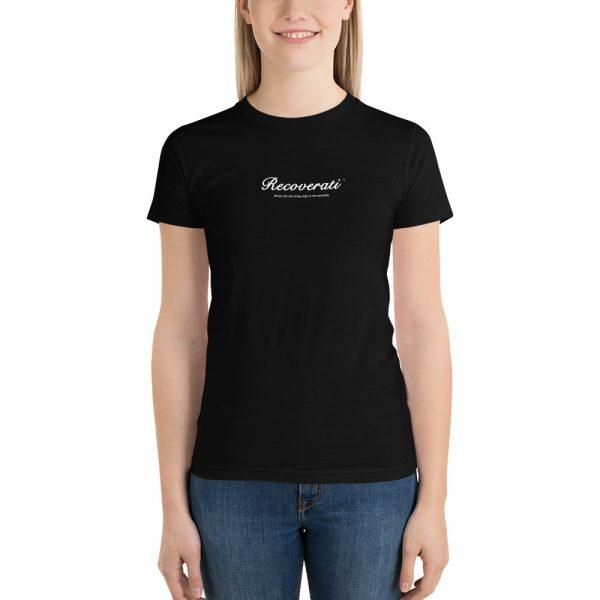 Recoverati black t-shirt