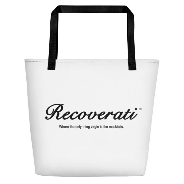 Recoverati white tote bag