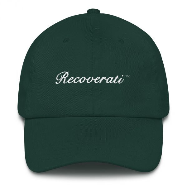 Recoverati green dad hat