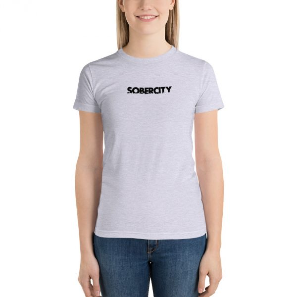 SOBERCITY grey t-shirt