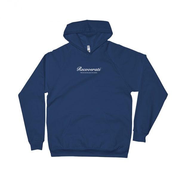 Recoverati blue hoodie