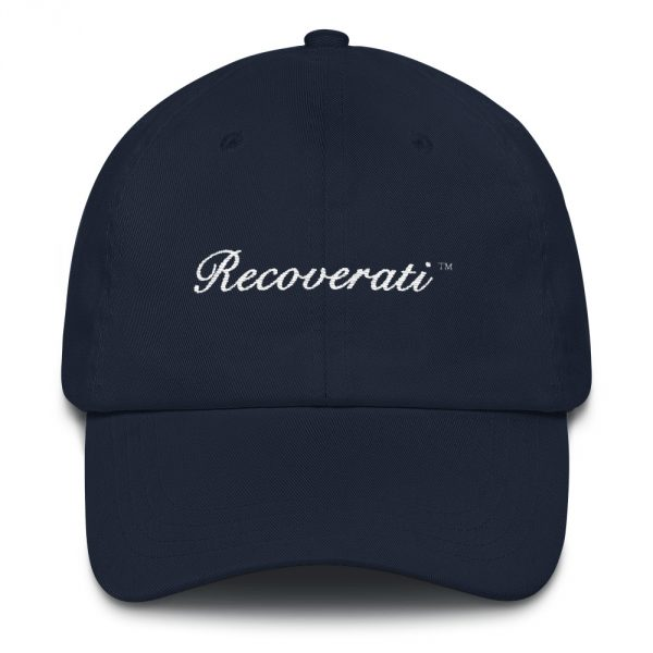 Recoverati blue dad hat